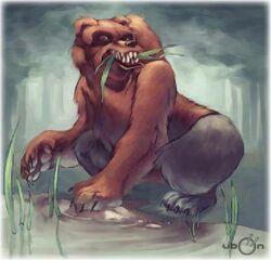 Mandibear (resembles Nandi Bear)