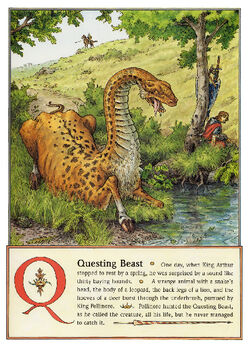 Dbs Jonathan Hunt Bestiary 19 Questing Beast 800