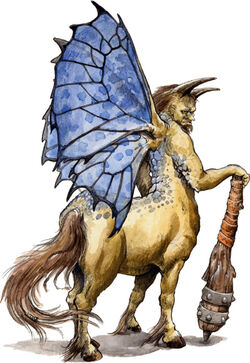 Half-Fey Centaur