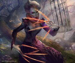 640x538 13996 Talons of Falkenrath 2d fantasy death blood undead vampire magic the gathering picture image digital art