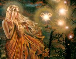 Fairy besieged by atomies