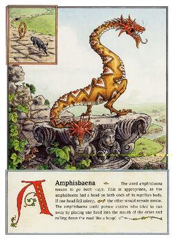 Dbs Jonathan Hunt Bestiary 03 Amphisbaena 800