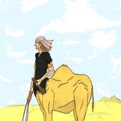 A Camel Centaur scout...