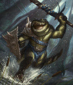 Crocodile warrior by faxtar-d56rria-1-