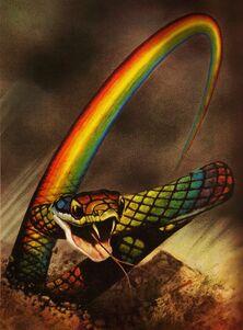 The Rainbow Serpent by Cut Throat Angel-1-