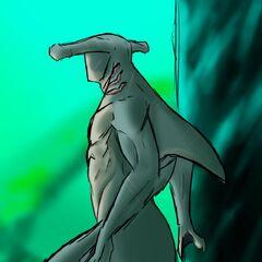 Born of an Atlantean and a Wereshark...
