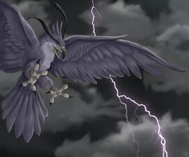 Thunderbird before a storm