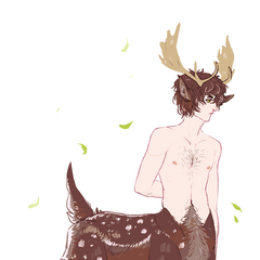 Moose centaur, out for a walk...