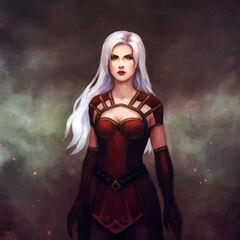 The powerful sorceress Cassiea returns...
