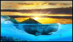 Zaratan Island Whale Monster Creature Beast Animal