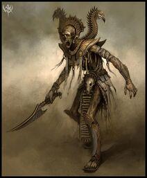 Ushabti Warrior-1-