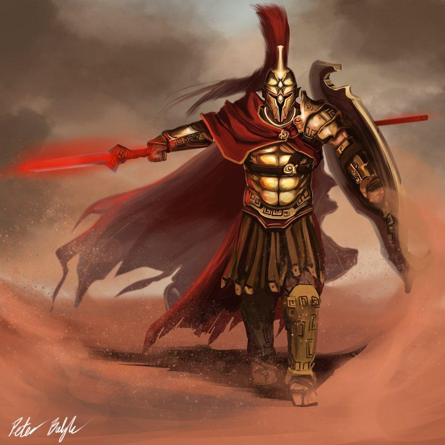Image Ares Mars Greek God Art 02 By Peterprimeg Warriors Of