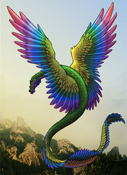 Rainbow Coatl by ArnaTornwolf-1-