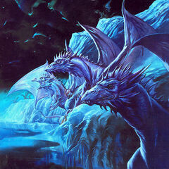 Icy cliffs are natural home to Frost Dragons...