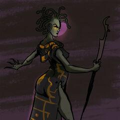 The Gorgon Mistress, Agathophia...