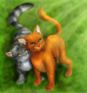 Warrior cats by cybercatmia