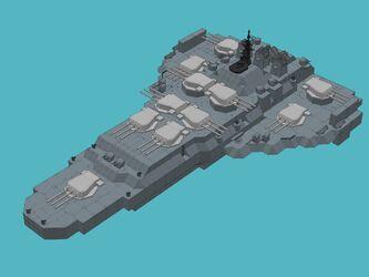 Harrier battleship