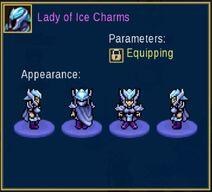 Lady of Ice Charms
