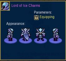 Lord of Ice Charms