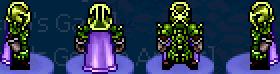 Char dominators emerald armor