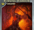Burning Warrior