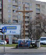 Grochowska, Międzyborska (krzyż przydrożny)