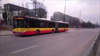 Autobusy linii 136 i Z-1 na ul. Wołoskiej (HD)