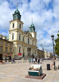 Krakowskie Przedmieście Bazylika Św. Krzyża