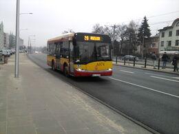 Z-9 na Powstańców Śląskich (koło Hala Wola) (2013) (by Kubar906)