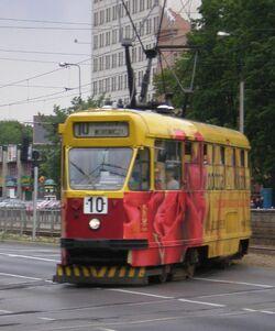 Aleja Niepodleglosci (tramwaj 10)