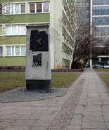 Pomnik granic getta (Świętokrzyska)