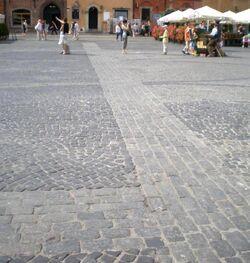 Rynek Starego Miasta (zarys ratusza) 2