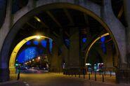 Most Poniatowskiego arkada Solec