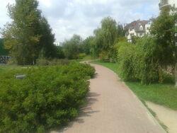 Ścieżka rowerowa SS (Ursynów, by BartekBD)