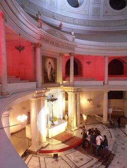 Kościół św. Trójcy (wnętrze)