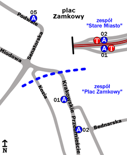 Stare Miasto - Plac Zamkowy2