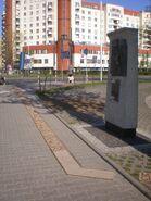 Pomnik granic getta (Dzika)