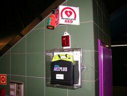 AED na Stacji Świętokrzyska