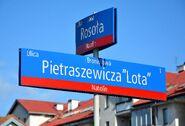 Tablica MSI ul. Pietraszewicza