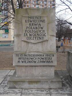 Wysockiego, Suwalska (kamień Tchorka)