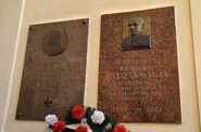 Tablice Piłsudski Rydz-Smigły kościół św. Aleksandra