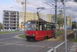 Broniewskiego (tramwaj 28)