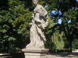 Rzeźby w Ogrodzie Saskim