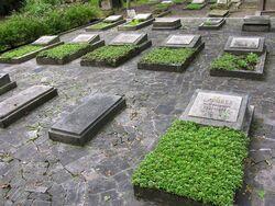 Groby budowniczych PKiN Cmentarz Prawosławny na Woli