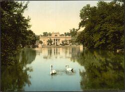 Łazienki ok.1900