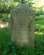 Syta (cmentarz ewangelicki, nagrobek L. Litke)