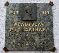 Tablica Władysław Pytlasiński Grzybowska 30