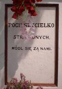 Chudoby, Suchocińska (kapliczka, tablica zachodnia)