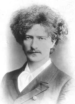 Młody Ignacy Jan Paderewski PD