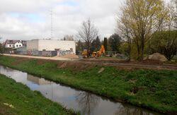 Kanał Bródnowski, Lecha (budowa promenady)